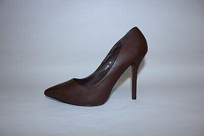 Scarpe Donna elegante tacco Marrone N.39