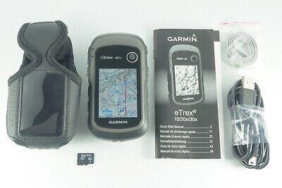 Garmin eTrex 30x Handheld GPS w/ TOPO U.S. 24K Maps Upgrade Choose Any Region!