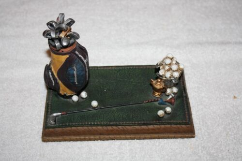 Clubhouse Collection Golf Gifts Business Card Holder - Used