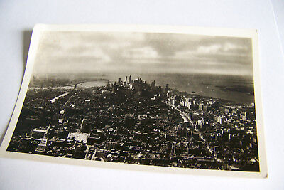 Rare Vintage Rppc Real Photo Postcard B1 New York Empire Bldg State South View