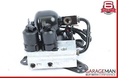 00-06 Mercedes W220 CL500 S600 ABC Hydraulic Valve Block Rear Suspension Pump