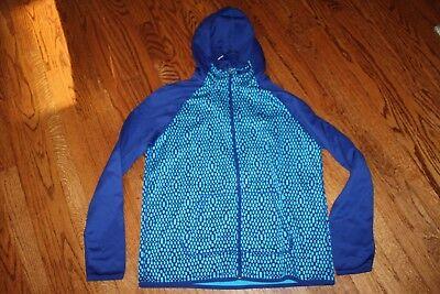 NIKE WOMEN'S ALL TIME FULL ZIP HOODIE SWEATSHIRT BLUE 715591 407 NEW ()