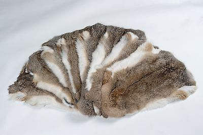 Echte Kaninchen Fell (1974 Natural Rabbit Skins Real Fur   Kaninchenfelle - hasenfarbig Echt Fell Pelz)
