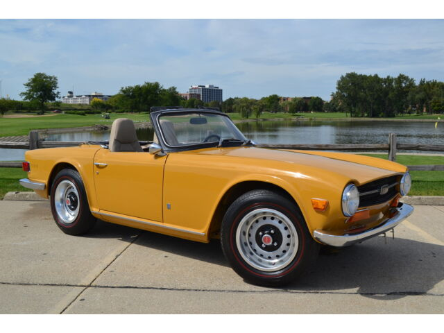 Image 1 of Triumph: TR-6 Yellow…