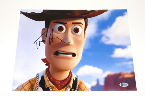 TOM HANKS SIGNED AUTHENTIC 'TOY STORY' WOODY 11X14 PHOTO ACTOR BECKETT COA BAS