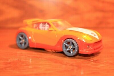 Transformers animated yellow car