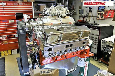 DART 372 CI. SMALL BLOCK CHEVY 192 BLOWER SHOP PUMP GAS MOTOR HYD ROLLER NEW