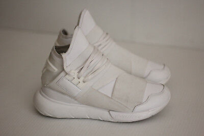 47db94f6f Adidas Y-3 Yohji Yamamoto  Qasa  High Boost Sneaker - White - 7US - AQ5500  (A26)