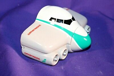 CATHAY PACIFIC child's case giveaway toy box plastic airline