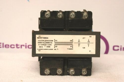 Square D 9070T100D4 Transformer **XLNT** 9070 T100D4