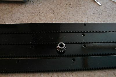 Cnc Stepper Motor Mech Rack Gear 96 Rack 4x24pcs A 15t 38 Pinion Gear