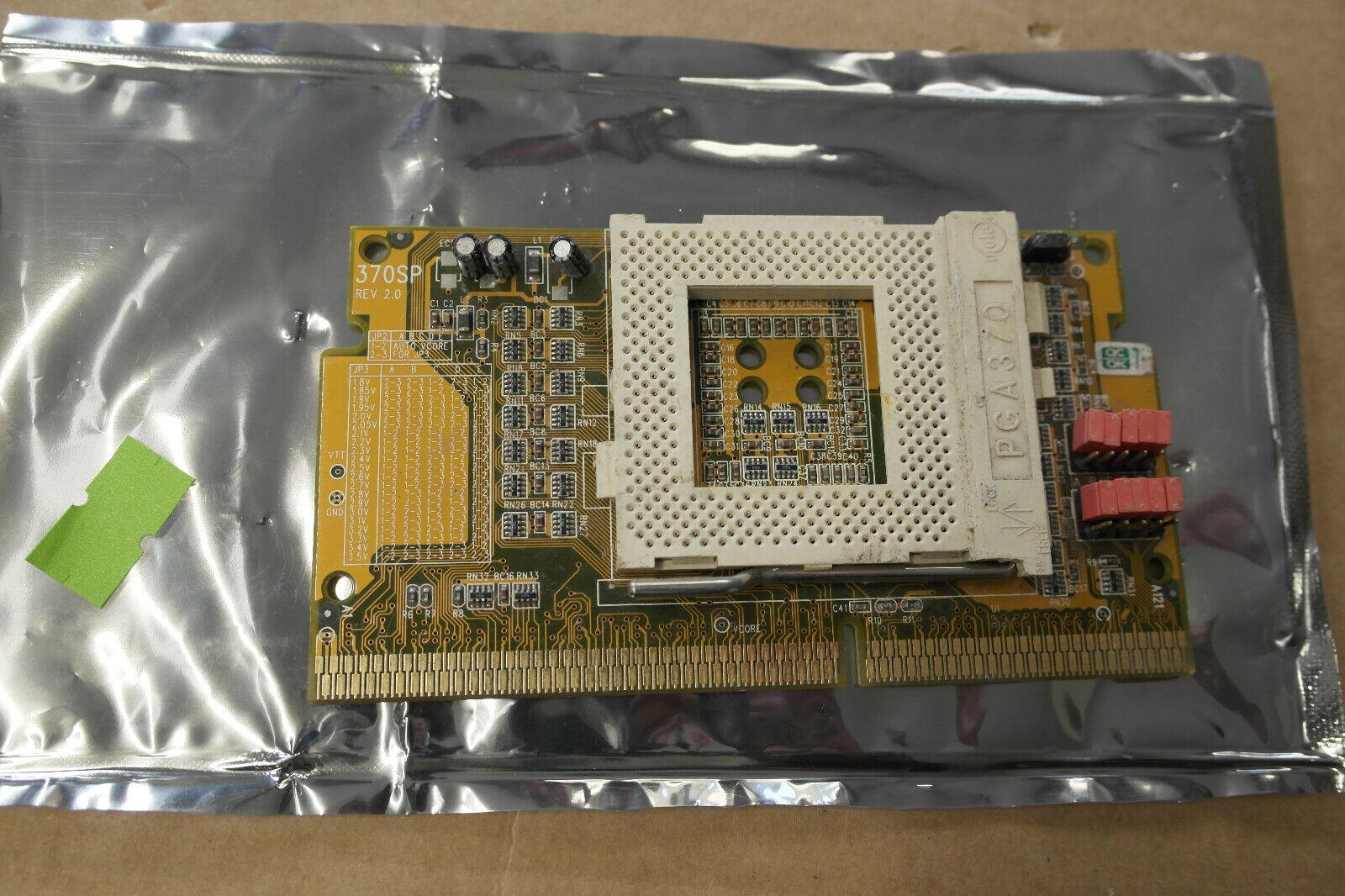 |CPU Converter Adapter Intel Slot 1 socket 370 Slo…