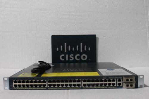 Cisco WS-C4948-10GE-S 4948-10GE 48 Port Gigabit +10GB Switch w single AC 15.0 OS