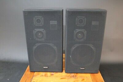 Kenwood LSK-310 Hi Fi Speakers 3 Way Rare Vintage Audio 1980s Japan