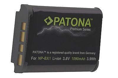 AKKU  NP-BX1  PATONA PREMIUM Battery 1090mAh für Sony DSC-RX100 VI , HX99