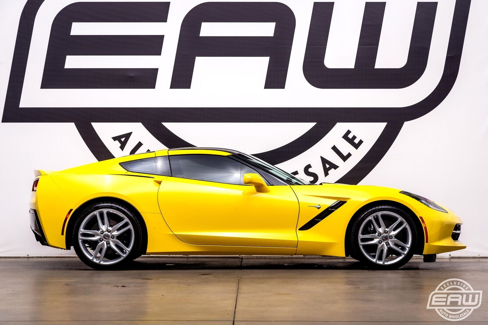 2016 Yellow Chevrolet Corvette Stingray 2LT | C7 Corvette Photo 9
