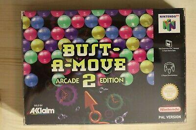 Bust-A-Move 2: Arcade Edition - OVP/Boxed Nintendo 64 N64 PAL