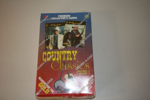 Country Classics Premium Collectors Cards 1992 Series 1 Limited Edition New