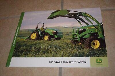 John Deere Models 4120 4320 4520 4720 43-58 Hp Tractors Sales Brochure