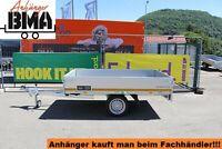 EDUARD Anhänger Hochlader 230x145x30 750kg ALUBORDWÄNDE NEU Baden-Württemberg - Mühlhausen im Täle Vorschau