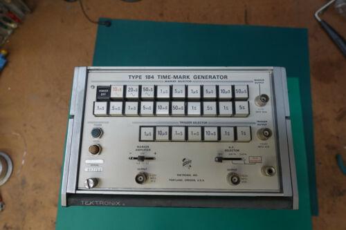 Tektronix Type 184 Time Mark Generator WORKS