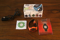 Pyle Sports PSGP310OR Digital LED Sports Training Watch with GPS Navigation