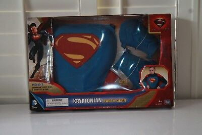 SUPERMAN, KRYPTONIAN EARTH GEAR, COSTUME CAPE , CHESTPLATE , GAUNTLETS NEW ](Superman Chest Plate)