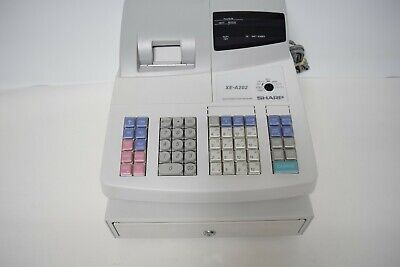Sharp Xe-a202 Electronic Cash Register Retail Store
