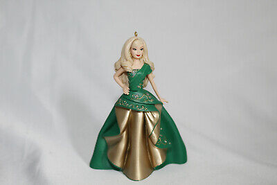 Hallmark Mattel 2011 Holiday Barbie Ornament. Preowned.