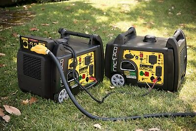 Bundle Of 2 100204r - 28003100w Champion Dual Fuel Inverters - Refurbished