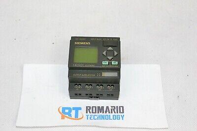 Siemens 6ed1 052-1md00-0ba4 Logo Simatic Plc Logo 1224rc