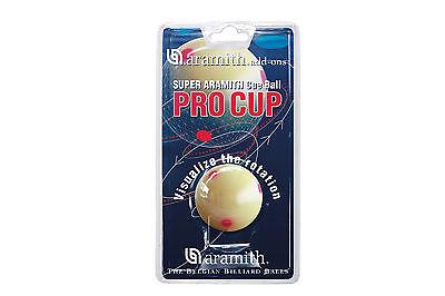 Billard Trainingskugel Kugel weiß Zubehör Pro Cup Aramith Pool 57,2mm