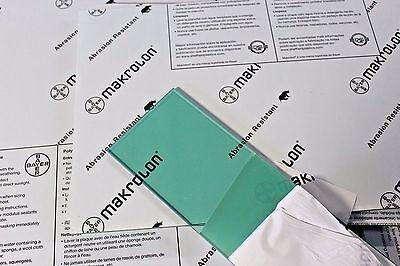 Makrolon Ar2-mr10 Lexan Green Polycarbonate Sheet 14 X 19-34 X 48