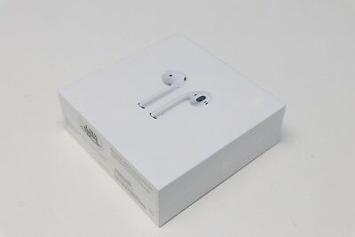 New Apple AirPods Unblemished Wireless Bluetooth In-Ear Headset Earbuds MMEF2AM/A
