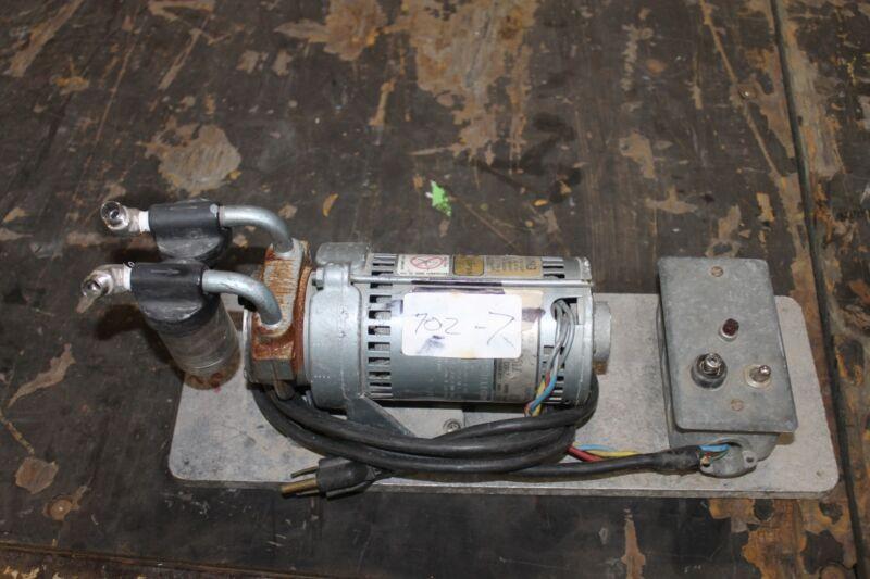 Gast 102a-351x Vacuum Pump Working