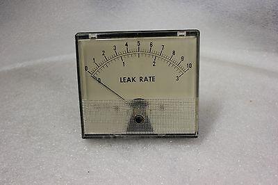 Weston Leak Rate Panel Mount Gauge Meter Model 1946-t N-25