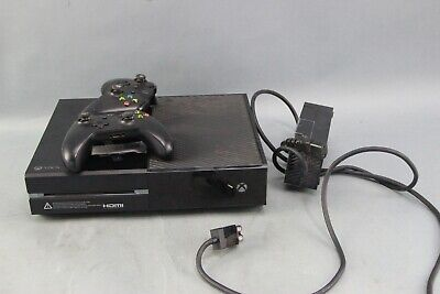 Microsoft Xbox One 500GB Black Video Game 1540 Console With two controllers