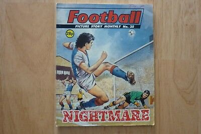 Football Picture Story Monthly No 35.Back Cover Paul Goddard.Newcastle United. for sale  Morecambe