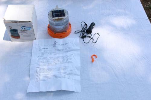 Larson Electronics SLEDB-5-M-AMB Solar Powered LED Strobing Beacon