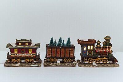 St. Nicholas Square Village Collection - 3-pc Train Set