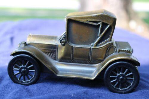 VTG State Bank Co. Edgerton, OHIO Metal Bank 1915 Roadster Car Automobile Piggy
