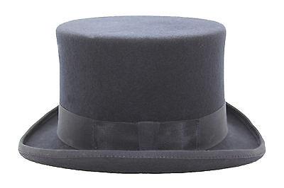 Gentleman 100% Wool High Quality Dark Navy Blue Top Hat With Satin Lining](Navy Blue Top Hat)