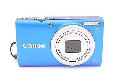 Canon Powershot A4000 Is 16.0MP Digitalkamera - Blau 16 Mp A4000 Is Kamera