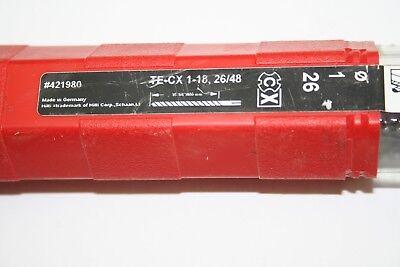 Hilti  Hammer Sds Plus Drill Bit 421980 Te-cx 1-182648 New
