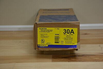 Schneider Hu361rb Square D 600v Heavy Duty Safety Switch