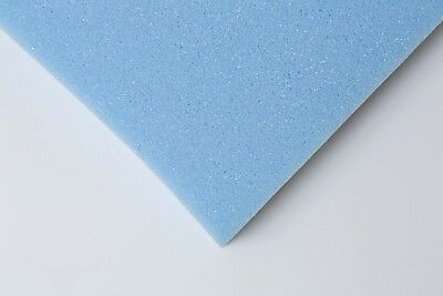 "LARGE UPHOLSTERY FOAM SHEET. 80"" X 68"" X 1/4"". BEST PRICE, BLUE RX39 FIRM"