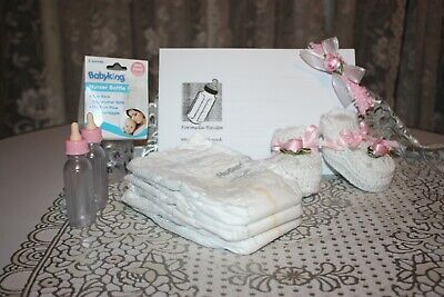 Reborn Doll Accessories Set - Booties, Bottles and more! GIRL