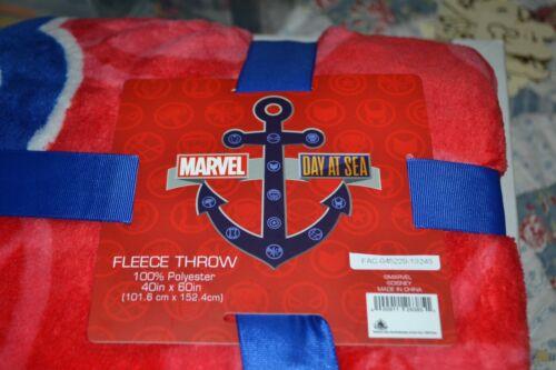 Disney 40 x 60 Marvel Day At Sea Throw Blanket