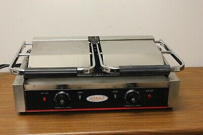 Hakka Commercial Professional Restaurant Grade Panini Press Model Tcg-813