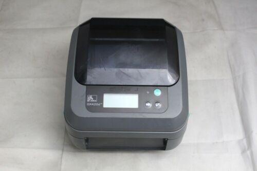 Zebra GX420d Thermal Label Printer GX42-202710-000 (FOR PARTS OR REPAIR)